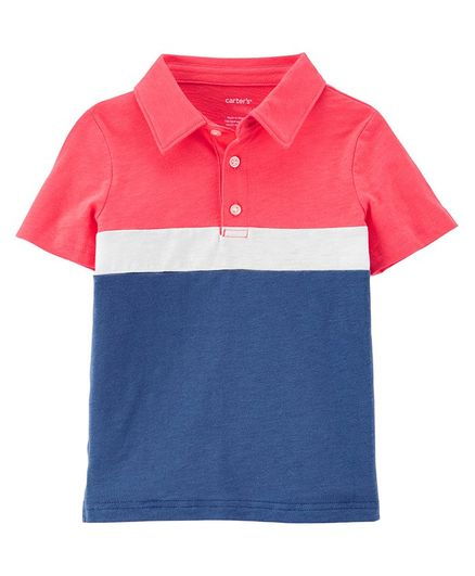 Carter's Slub Jersey Polo - Multicolor