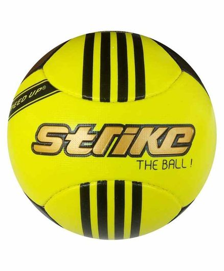 Speed Up Premium Football Strike Print Size 5 - Yellow