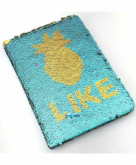 FunBlast Sequin Design Flip Diary - 80 Pages