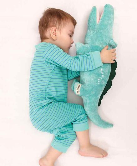 Mi Arcus Safari Snappy Soft Toy Green - Length 60 cm
