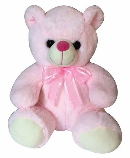Sterling Teddy Bear Soft Toy Pink - Height 30 cm