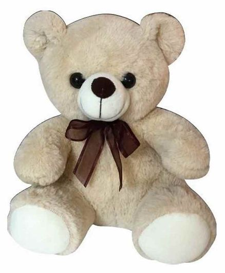 Sterling Teddy Bear Soft Toy Beige - Height 30 cm