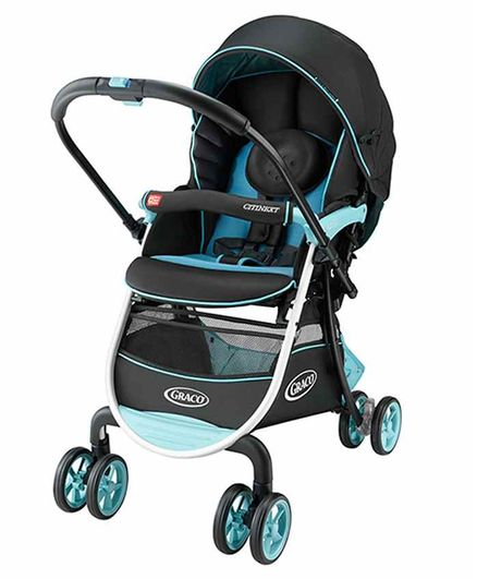 Graco Citi Go Stroller with Reclining Seat - Blue