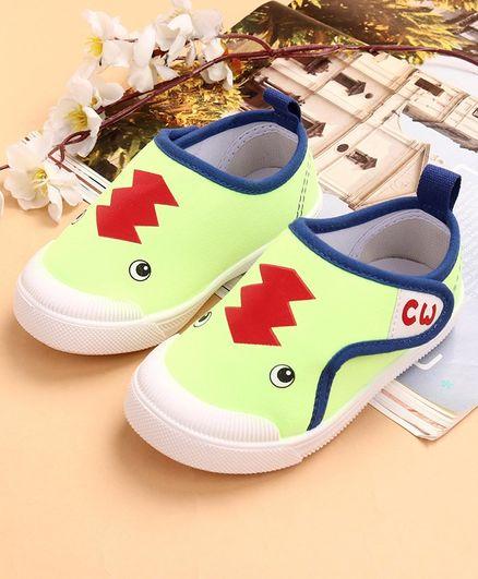 Buy Cute Walk by Babyhug Canvas Shoes