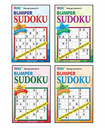 Young Learner's Publication Bumper Sudoku Set of 4 Books - English