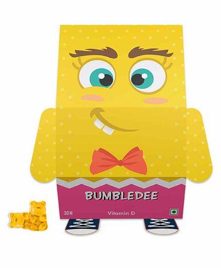 Mamba Jamba  Bumbledee Vitamin D Gummy Bears - 30 Pieces