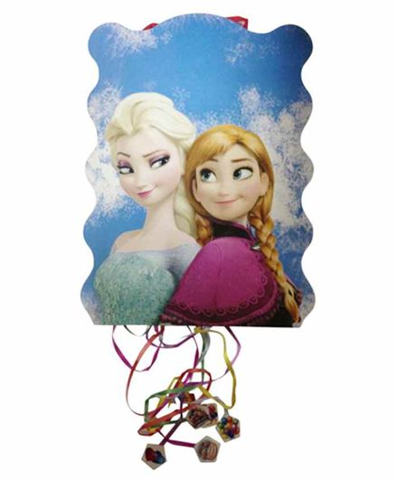 Funcart Pull String Frozen Theme Pinata Bag - Multicolor