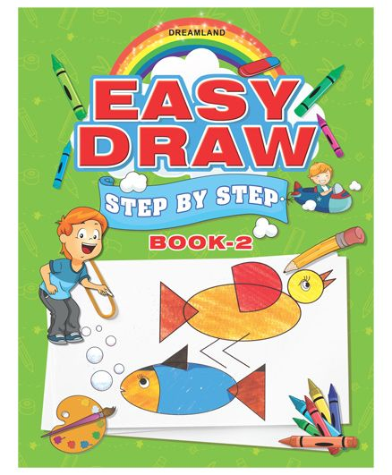 Easy Draw Step By Step Book 2