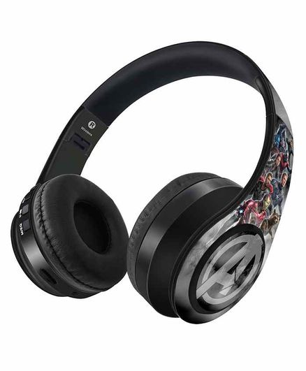 Macmerise Avengers Endgame Decibel Wireless On Ear Headphones - Grey