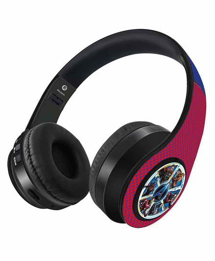Macmerise Avengers Endgame Ensemble Decibel Wireless Headphones - Red Blue