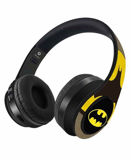 DC Comics Overload Batman Decibel Wireless Headphones - Black
