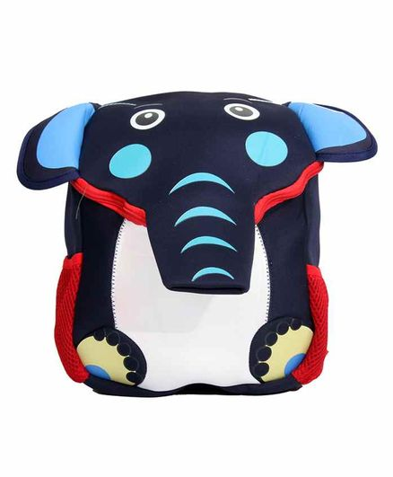 EZ Life Bag 3D Elephant Trunk & Print Navy Blue - 12 Inches