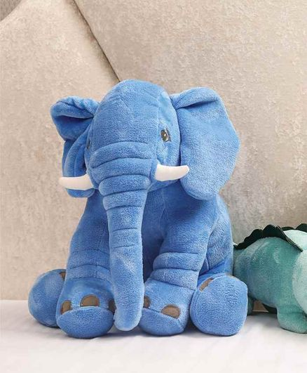 Mi Arcus Elephant Soft Toy Blue - Height 50 cm