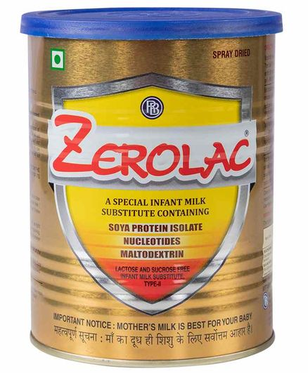 Zerolac Infant Milk Substitute - 400 gm