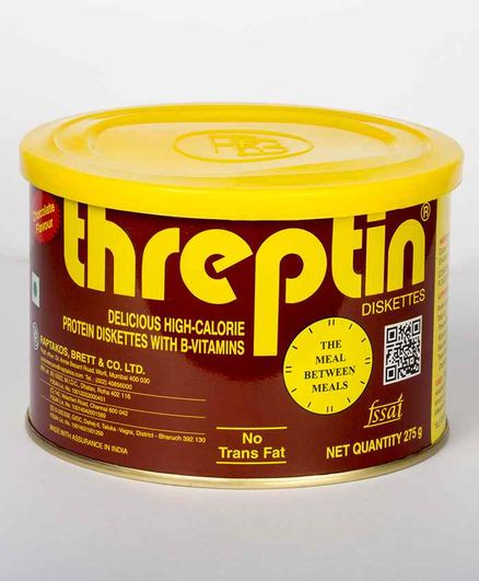 Threptin Diskettes Chocolate Flavour - 275 gm