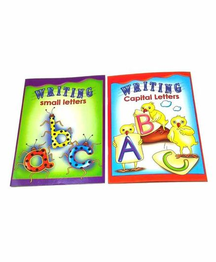 Sterling  Capital Letter & Small Letters Writing Books Pack of 2 - English