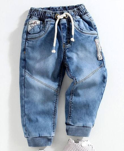 Little Kangaroos Full Length Jogger Jeans - Blue