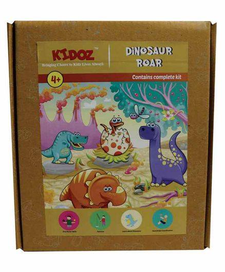 Kidoz Dinosaur Making Kit - Multicolor