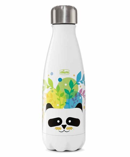 Chicco Water Bottle Panda Print - 350 ml