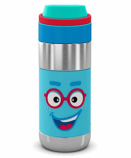 Rabitat Stainless Steel Sipper Water Bottle Blue - 400 ml