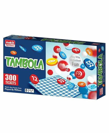 Ankit Toys Tambola Board Game - Multicolor