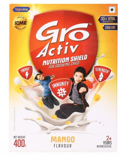 GroActiv Nutirition Shield for Growing Child Mango - 400 gm
