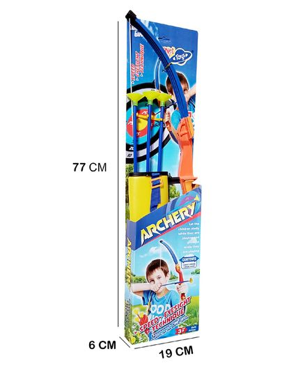 Planet of Toys Archery Bow and Arrow Set - Multicolor