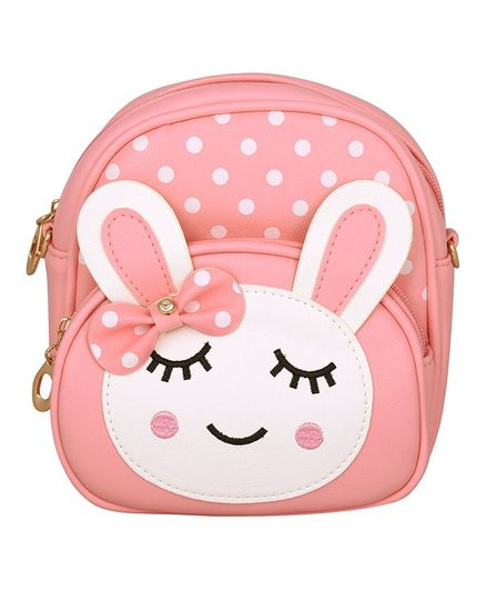 Asthetika Sleeping Bunny Patch Backpack - Pink