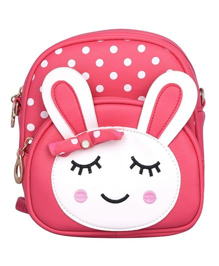 Asthetika Sleeping Bunny Patch Backpack - Red