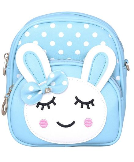 Asthetika Sleeping Bunny Patch Backpack - Blue