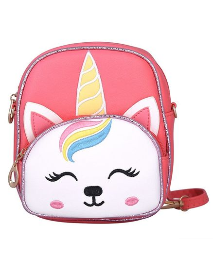Asthetika Unicorn Patch Backpack - Pink