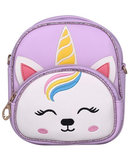 Asthetika Unicorn Patch Backpack - Lilac