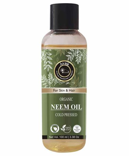 Avnii Organics Cold Pressed Neem Oil - 100 ml