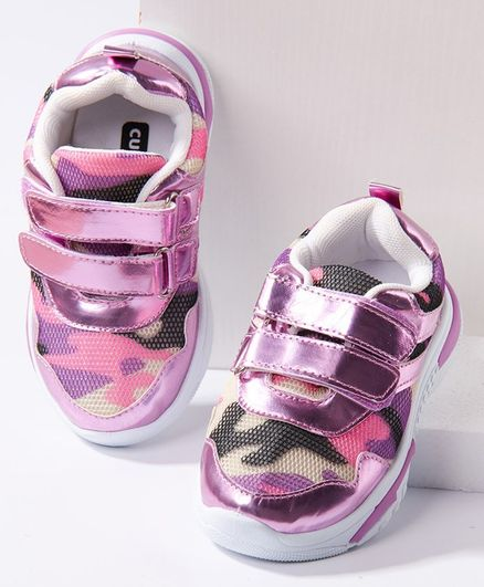 Cute Walk by Babyhug Casual Shoes - Purple