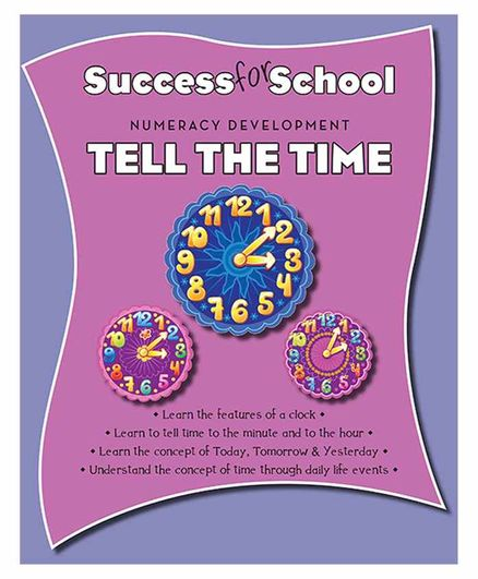 Parragon Success for School Tell the Time - English