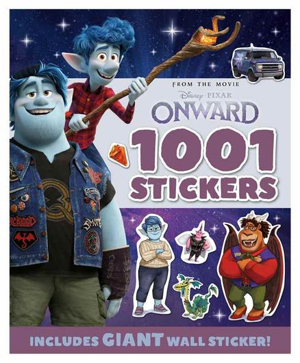 Parragon Onward Movie Themed 1001 Stickers Book - English
