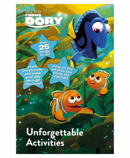 Parragon Disney Pixar Finding Dory Unforgettable Activities Book - English