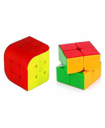 VWorld Rubix Cube Pack of 2 - Red Yellow