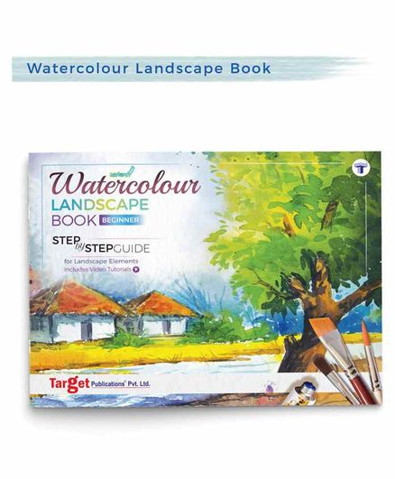 Target Publications Landscape Watercolour Painting Book - English