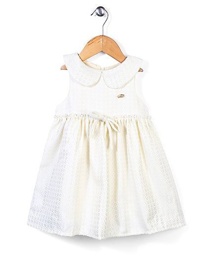 25d137f1a21f5 Buy Little Wonder Sailor Collar Dress Ivory for Girls (2-3 Years) Online in  India, Shop at FirstCry.com - 831963