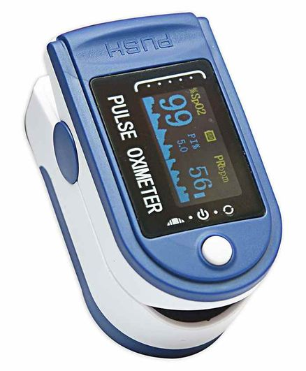 Smart Care Fingertip Pulse Oximeter 500C - Blue