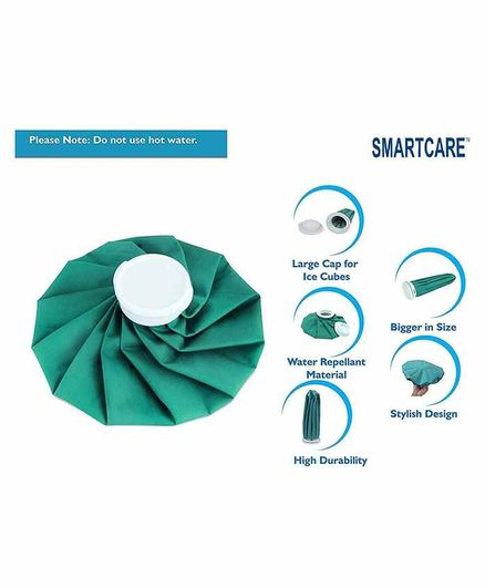 Smart Care Ice Bag - Green