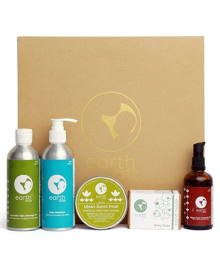 earthBaby Skin Care Hamper - Pack of 5