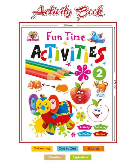 Majestic Book Fun Time Activities 2 - English