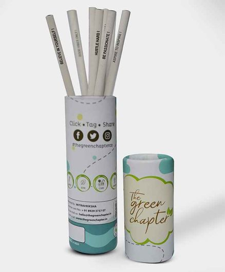 The Green Chapter Unicorn Plantable Seed Pencils Pack of 10 - White