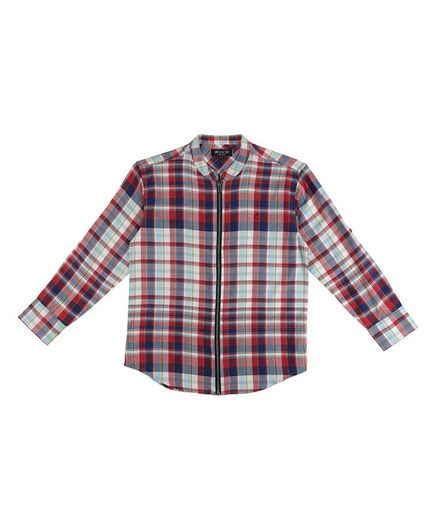 GINI & JONY Full Sleeves Checked Shirt - Multi Color