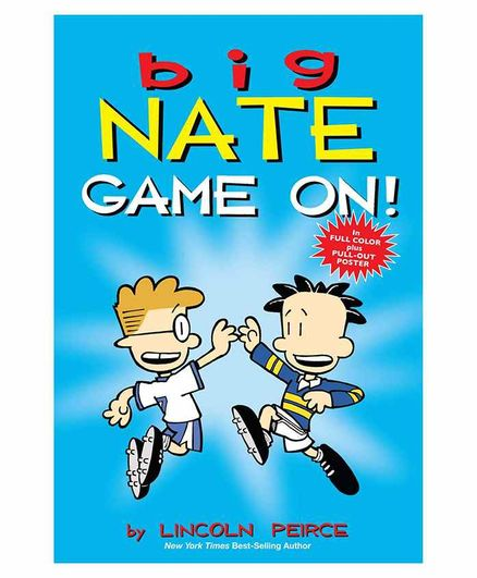 Simon & Schuster Big Nate Game On - English