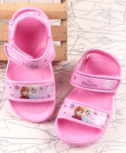 Disney Clogs Velcro Closure - Pink