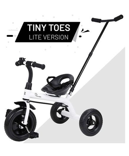 R for Rabbit Tiny Toes Lite Version Tricycle - Black