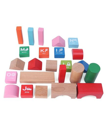 Orapple By R For Rabbit Alphabet Blocks Toy - 60 Pieces
